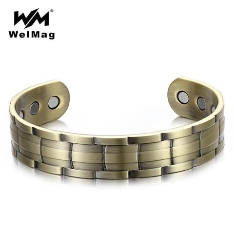 Магнитные браслеты для мужчин welmag dropship 2019 регулируемые
