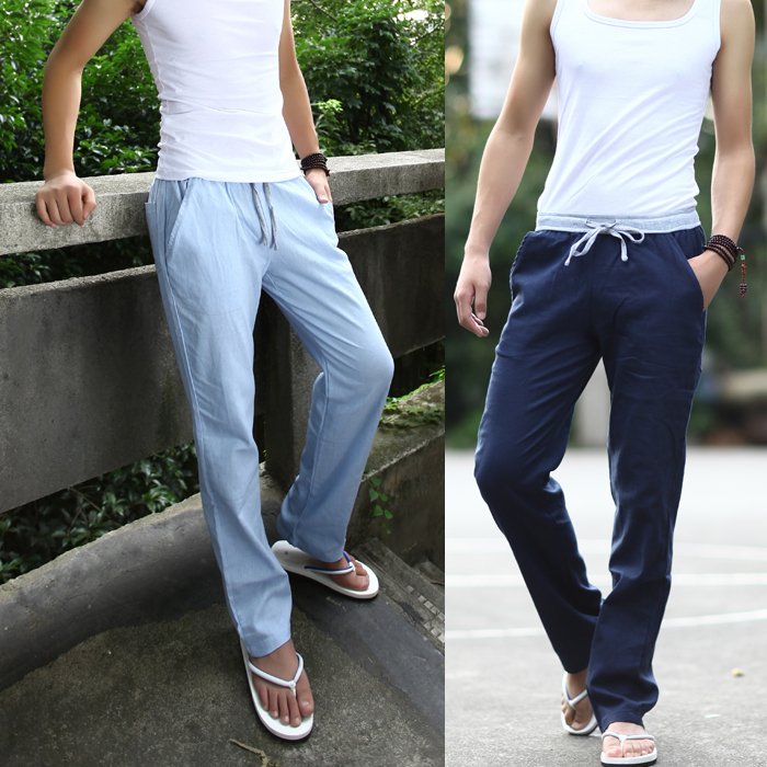 Aliexpress.com : Buy Summer influx of men and thin pants sky blue ...