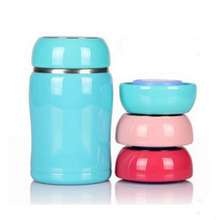 Free Shipping Vacuum Cup Belly 260 ml Small Flask for Kids Stainless Steel Thermos Water Bottle Childrens Cups