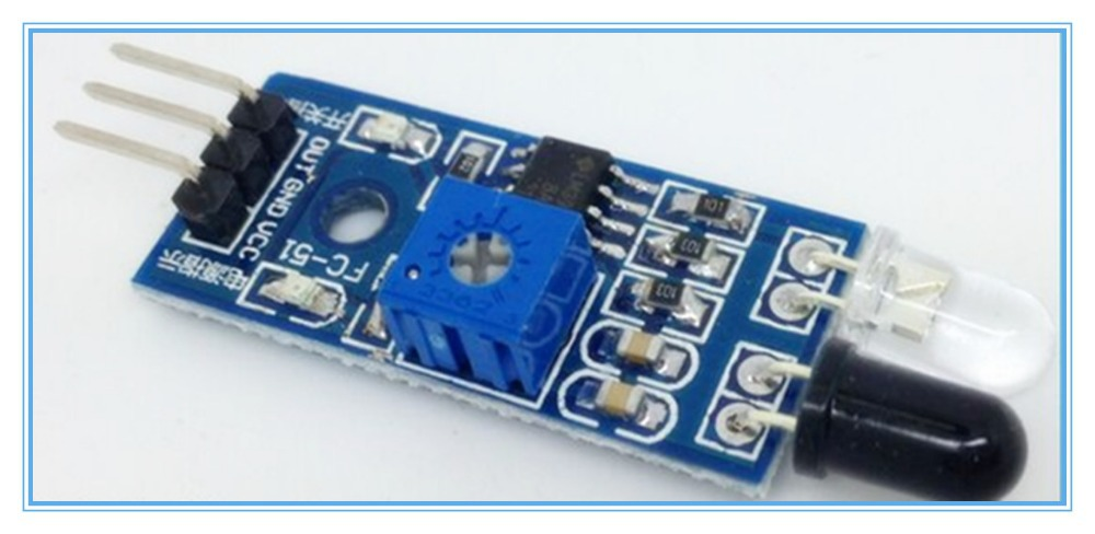 IR Infrared Obstacle Avoidance Sensor Module For Arduino