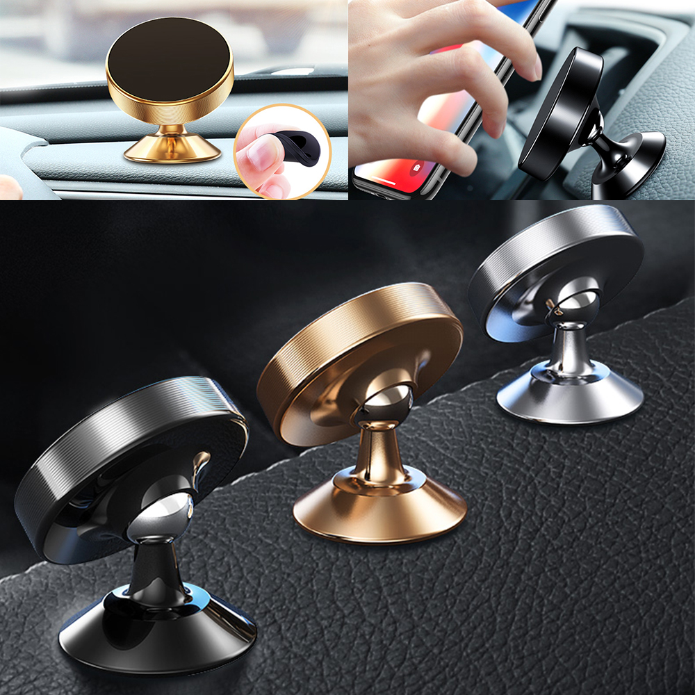 Image 2 - Magnetic Car Phone Holder Bracket Car Universal Phone Holder Magnet Mount Car GPS Holder Phone in Car Cell Mobile Phone Stand-in Phone Holders & Stands from Cellphones & Telecommunications