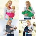 Ergonômico baby carrier 360/respirável do bebê portador envoltório/Stretchy baby sling/sling com anéis