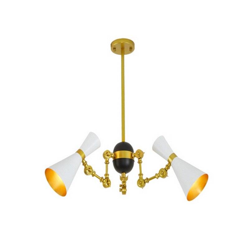 Modern minimalist iron creative adjustable chandeliers corridors porch lamps balcony lighting hall entrance lights (1)
