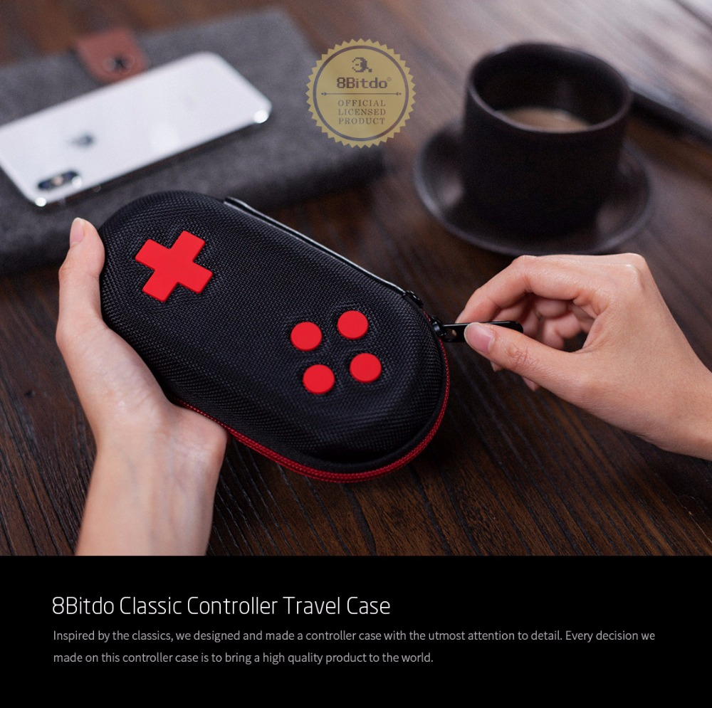 8BitDo Classic Controller Gamepad Travel Case Protection Bag 11