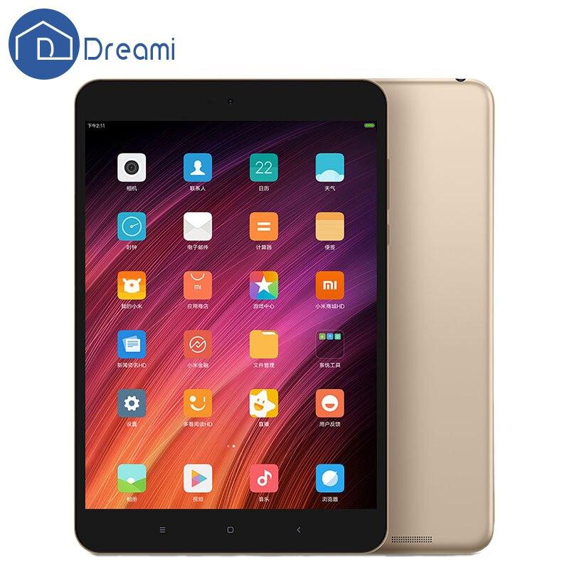 Dreami Original Xiaomi Mi pad3 Tablet PC  MIUI 8 4GB RAM 64GB ROM Metal Body 7.9'' Hexa Core 6600mAh Mipad MediaTek MT8176