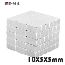 imanes 30Pcs 10x5x5 Neodymium Magnet Permanent N35 NdFeB Super Strong Powerful  Magnetic Magnets HE-MA Disc 10mmx5mmx5mm