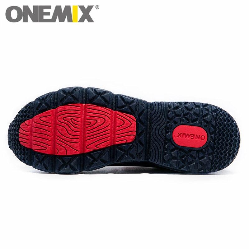 ONEMIX мужские спортивные кроссовки для женщин Музыка Ритм кроссовки дышащая сетка Открытый Спортивная обувь Freerun для мужчин - 3