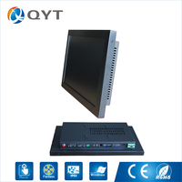 I3 CPU 18 5 Inch Industrial All In One Pc Aio Pc Resistive Touch QY 185C