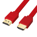 LOS 3FT el 0.3 M 1.5 M 2 M 3 M 5 M 7.5 M 10 M 15 M Chapado En Oro Plug macho-macho hdmi cable 1.4 versión plana línea corta 1080 p 3d para ps3hdtv
