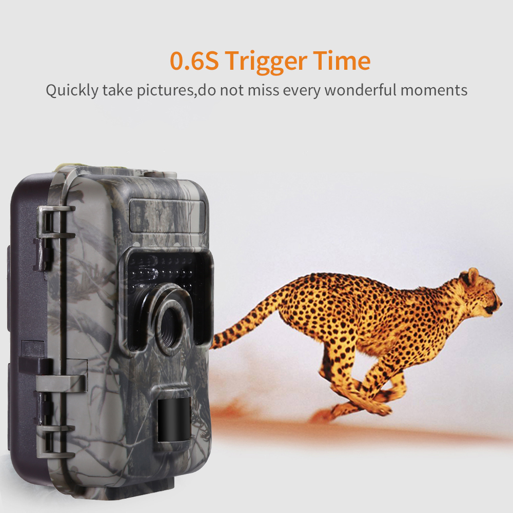 Image 2 - 1080P 16MP HD Trail Hunting Camera Farm Wlidlife Scout Infrared Night Vsion LED CAM Motion Detection IP66-in Hunting Cameras from Sports & Entertainment