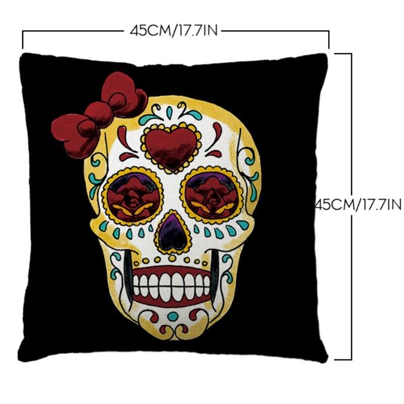 cheap pillow cases sugar skull dia de