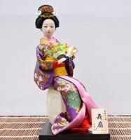 TNUKK 2017Unique 30cm Beautiful Hand Made Japan Geisha Home Decration Crafts Vintage Home Decor
