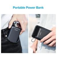 Ugreen Mini Power Bank 10000mAh Ultra Slim PoverBank for Samsung S9 S8 Dual USB Powerbank External Battery Pack Portable Charger 5