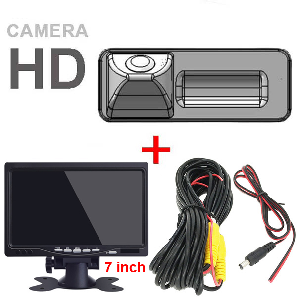 For BENZ S C-class W204 Limousine Kombi S E-class W221 W212 Reverse Car Back Up Parking Rearview Security Camera for GPS screen