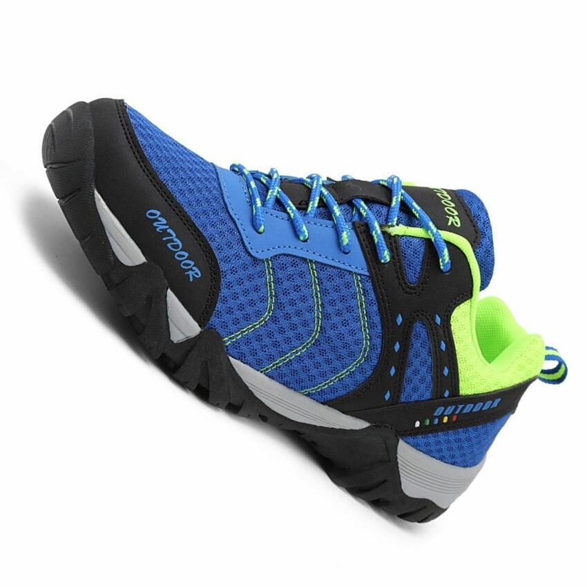 men breathable mesh hiking shoes outdoor sport camping walking shoes men climbing mountain trekking hiking shoes men sneakers