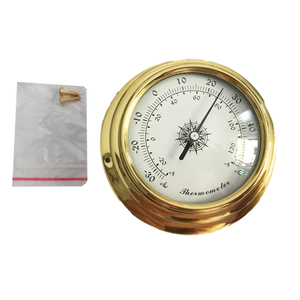 Image 4 - Hight Quality 4 Inches 4 PCS/set 9193 Thermometer Hygrometer Barometer Watches Clock  Weather Station