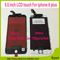 Livre DHL 10 pçs/lote 100% de Garantia de Qualidade AAA Tela LCD 5.5 inch display assembléia digitador para iphone 6 plus -- made in China