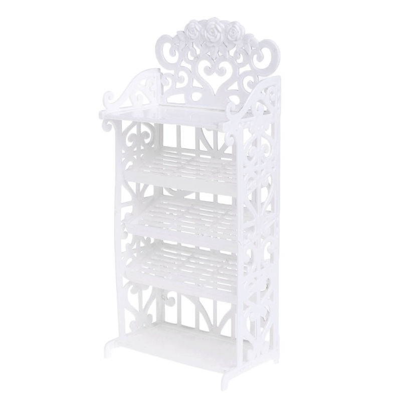 Newest Doll Shoe Rack House Accessories For Barbie Furniture Children Toys Storage MAY7-A one set 2018 newest doll shoes rack playhouse accessories for barbie doll furniture kids toys best gift for girl s