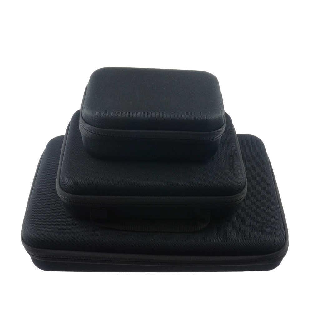 GoPro сумка для переноски защитный противоударный чехол для хранения 3 размера для спортивной экшн-камеры Go pro 5 6 4 eken H9 H6s sj4000 Yi 4 K Камера мешок для сбора