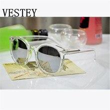 Fashion Sunglasses Women Multicolour Mercury Mirror Glasses Men Male Female Coating Sunglass Gold Round Oculos De Sol Feminino
