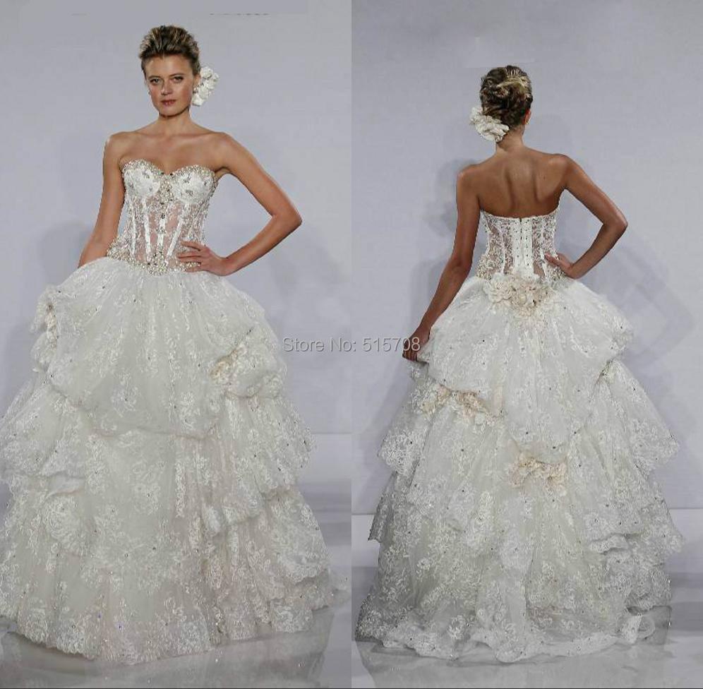 Popular Pnina Tornai Ball Gown Wedding Dresses Buy Cheap