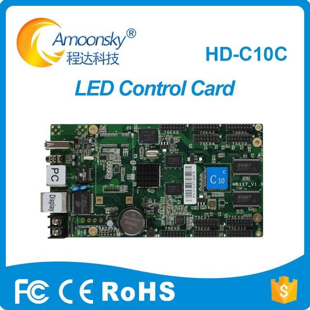 HD-C10C màn hình led điều khiển với 10 của HUB75E điều khiển led thẻ hỗ trợ thêm chế độ wifi điều khiển từ xa led video hiển thị