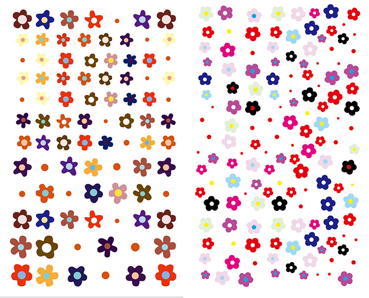 10Pcs/Bag Nail 3D Stickers Smiley Face&Cute Five-Petal Flowers Decals DIY Nail Self-Adhesive Art Stickers Manicure Decal Sticker