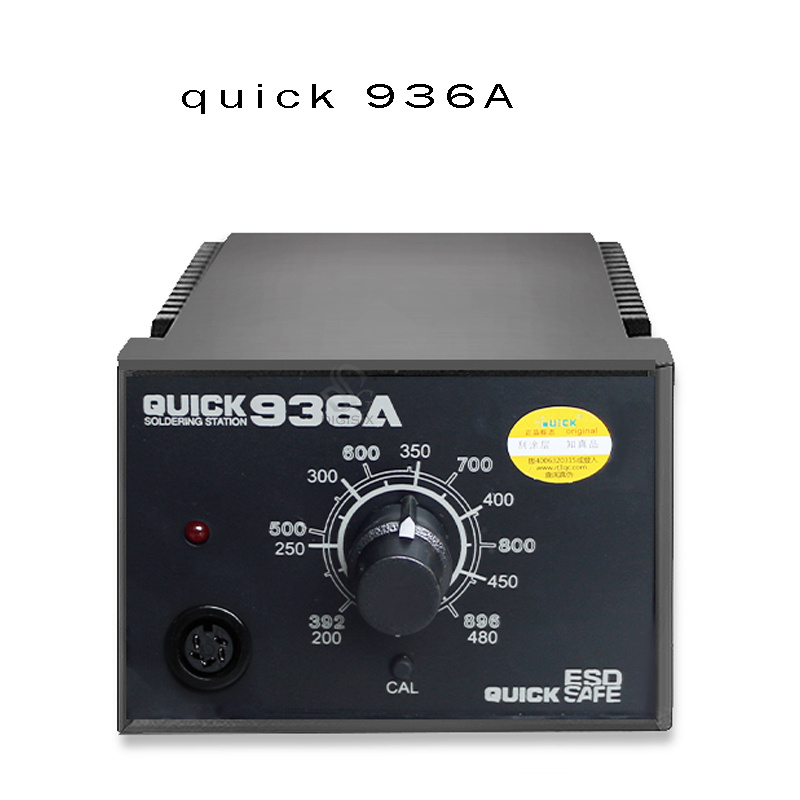 QUICK 936A SMD ESD soldering station ORIGINAL 60W / lead free high quality with free tip  цены