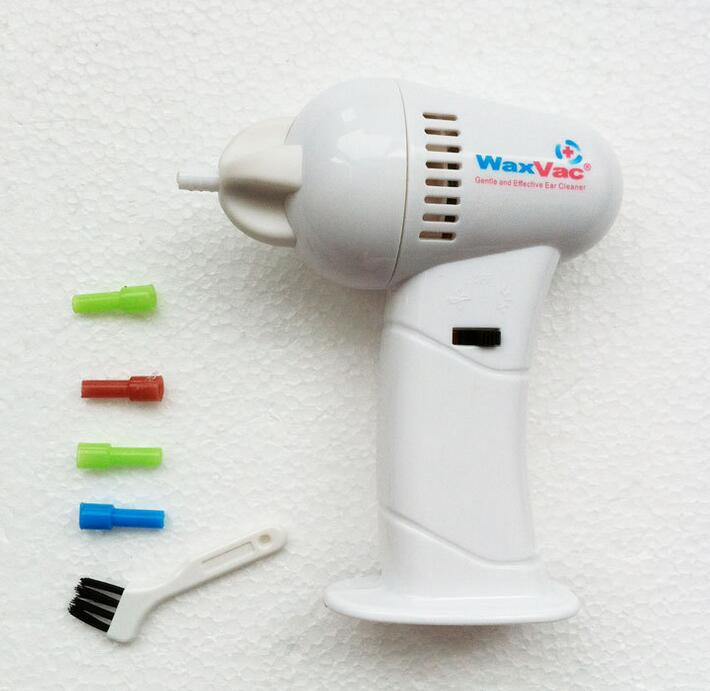 BYCQ WAXVAC VACUUM EAR CLEANING SYSTEM CLEAN EAR WAX VAC ... Ear Wax Removal As Seen On Tv