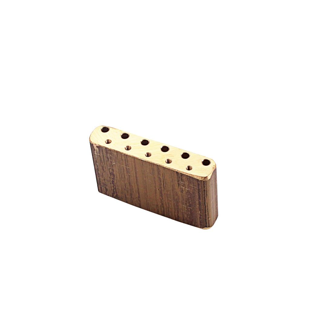 Guitar Base Block Brass For ST Vintage SQ Vibrate Tremolo System Bridge  Parts 6 String 5 Hole