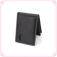 Badge Men Wallet Driving License Credit Card Holders Genuine Leather Car Styling for Audi A1 A3 A4 B5 B6 B7 B8 7 Q5 Q7