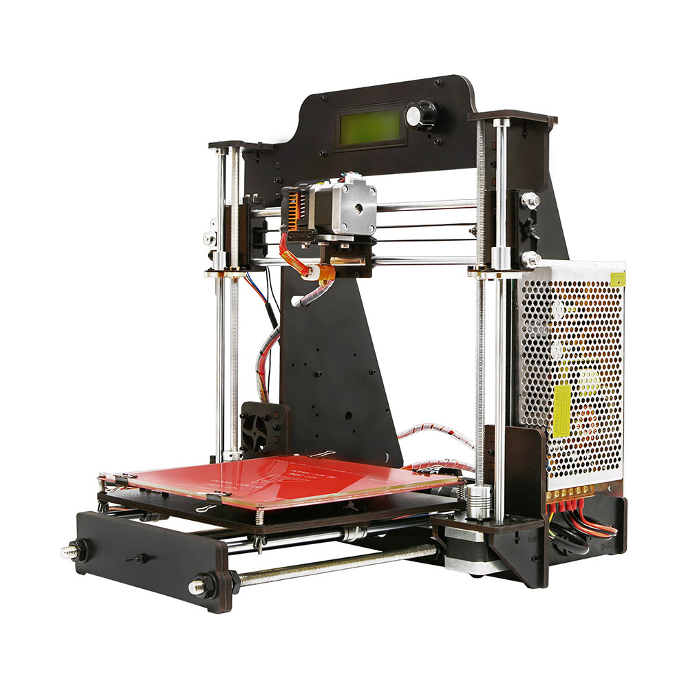 Geeetech 3D Printer,Wooden Prusa I3 Pro W Desktop 3D Printer DIY Kit with  WiFi Cloud, Support 3D WiFi Module, EasyPrint 3D App