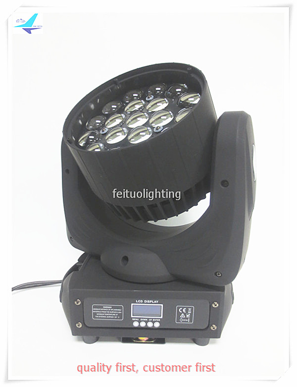 free shipping 2pcs/lot New LED Zoom 19x10w Moving Head Light Beam RGBW 4IN1 Stage Disco Moving Head Zoom Wash for Party Show Bar