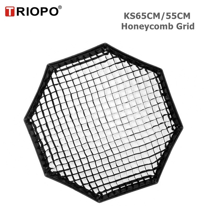 TRIOPO 55cm/65cm Honeycomb Grid for TRIOPO 55cm/65cm Foldable Softbox Octagon Umbrella Soft box photography studio accessoriesTRIOPO 55cm/65cm Honeycomb Grid for TRIOPO 55cm/65cm Foldable Softbox Octagon Umbrella Soft box photography studio accessories