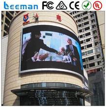 RGB P20 High Definition Открытый Полноцветный Светодиодный дисплей ххх фильмы светодиодный модуль 5050 полноцветный программируемый светодиодный перемещение знака Leeman