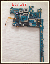 unlock Original board For Samsung Galaxy NOTE 2 I317 t889 Motherboard mainboard Free shipping