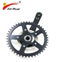 44T Chainwheel Teeth Mountain Road Bicycle Part Crankset Aluminum Alloy Black Gear Wheel Protector Bicycle Brand