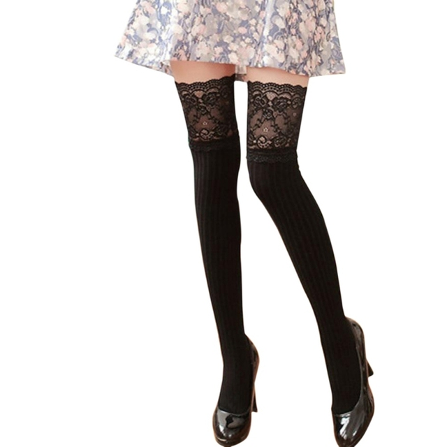 9056b21f9f0 Source https   www.aliexpress.com item Fashion-Lace-Knee-Socks-Women-Cotton- Thigh-High-Over-The-Knee-Stockings-for-Ladies-Girls-2017 32830258255.html
