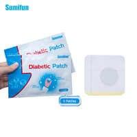 60 pièces/10 sacs herbes naturelles Patch diabète réduire l'hypertension artérielle diabète Patch médicaments diabétique plâtre D1275