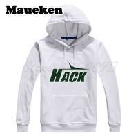 Men Hoodies Christian Hackenberg #5 HACK New York Sweatshirts Hooded Thick Lace up for fans gift Autumn Winter W17101612