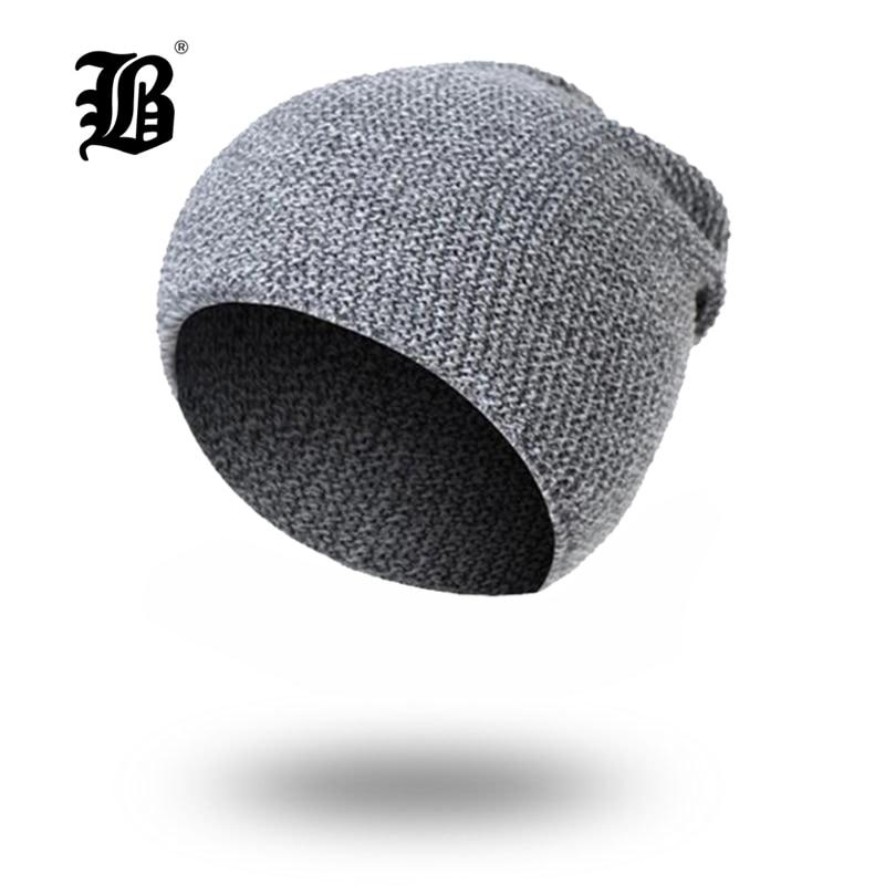 [FLB] Winter   Beanies   Men Knitted Hat Caps Mask Gorras Bonnet Warm Baggy Winter Hats For Men Women   Skullies     Beanies   Hats FK7708