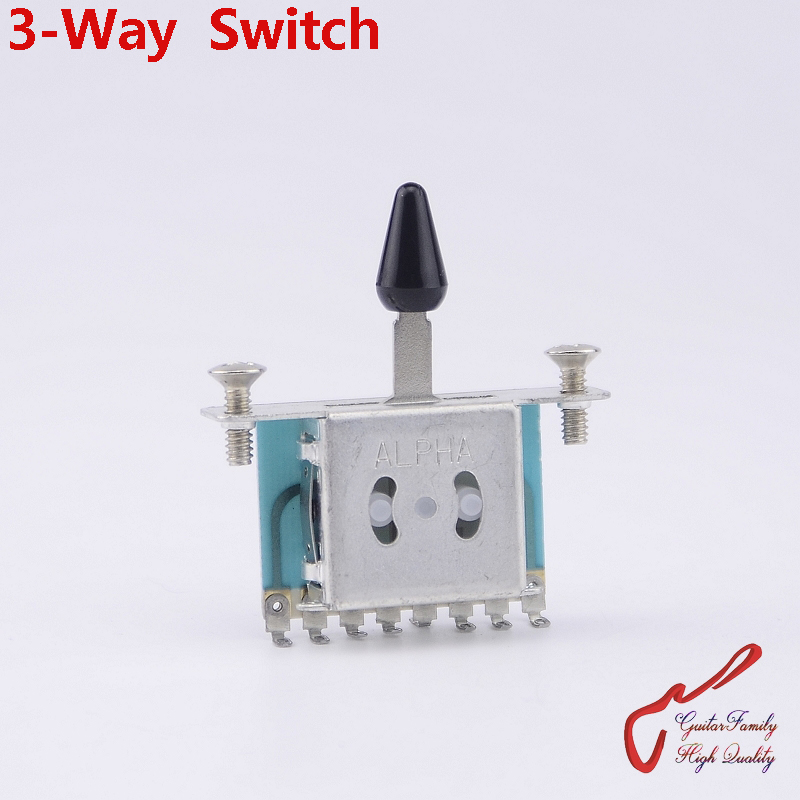 1 Piece GuitarFamily 3-way Guitar Pickup Selector Switch  ( #0393 ) MADE IN KOREA free shipping new electric guitar opened pickup in chrome made in south korea hy 8176