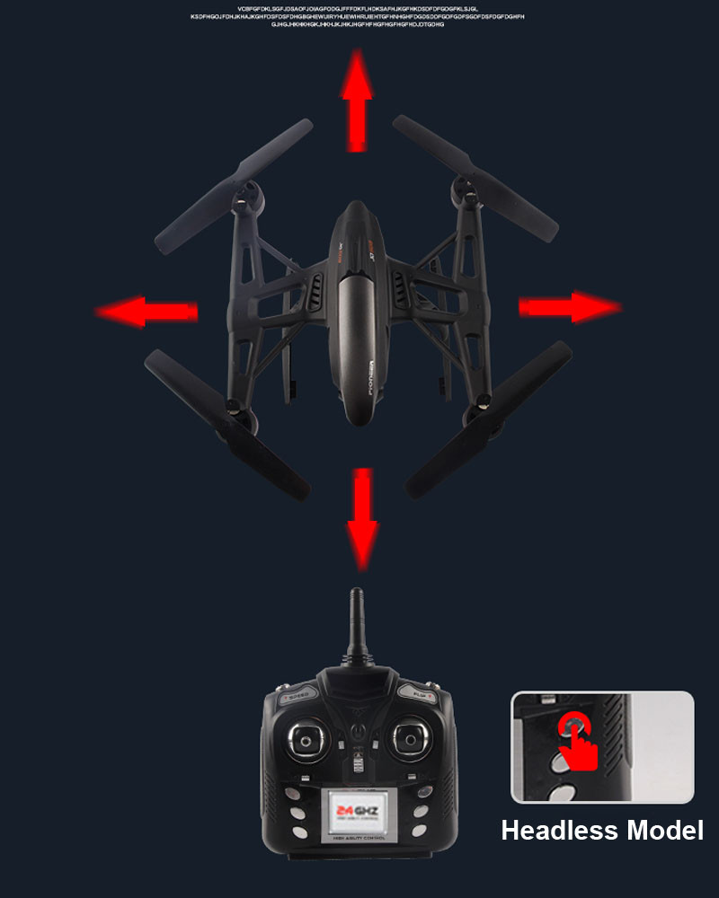 quadcopter fpv con jxd 6