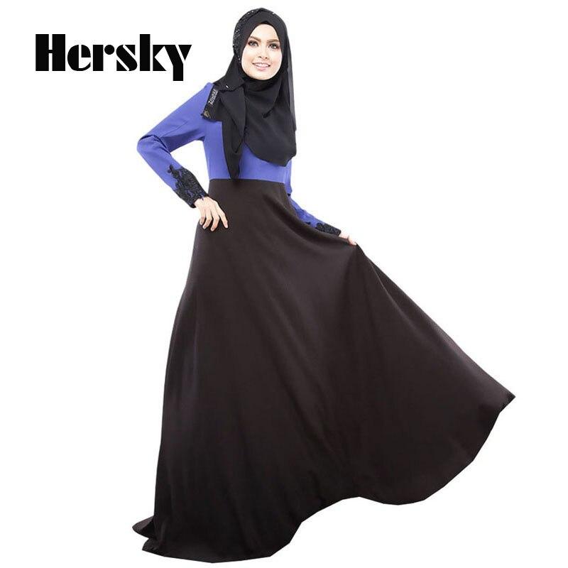 Muslimanska haljina abaya turska žena odjeća islamski abaya jilbab - Nacionalna odjeća - Foto 6