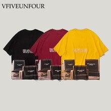 VFIVEUNFOUR Funny Print  New Arrival Hipster Tshirts Streetwear Men 2019 Hip Hop Harajuku Casual Short Sleeve Tops Tees Summer