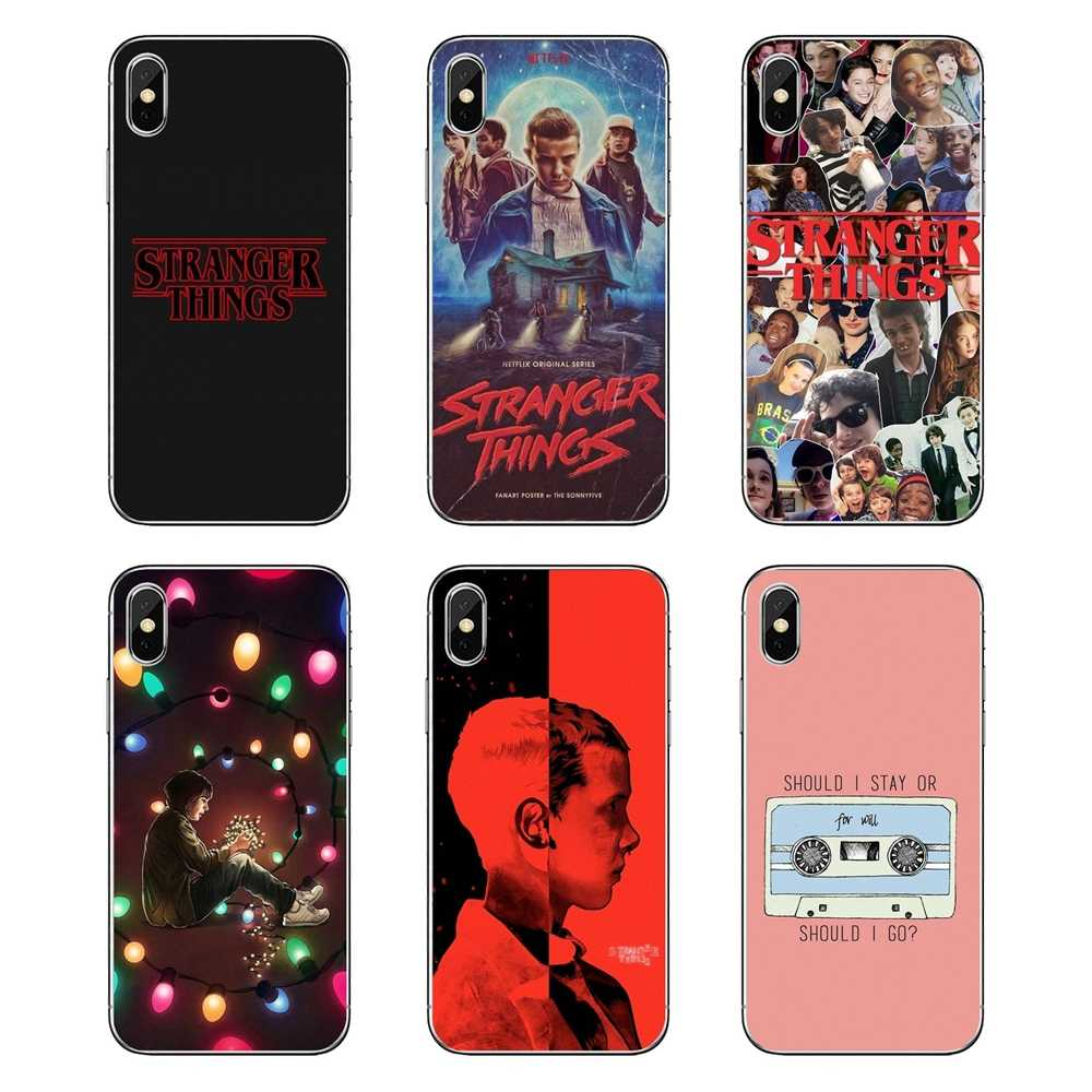 Transparent Soft Cases Covers stranger things For LG G7 Q6 Q7 Q8 Q9 V30 X Power 2 3 For OnePlus 3T 5T 6T