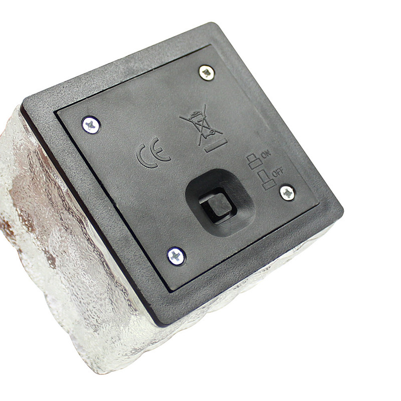 tijolo cubo de gelo caminho recessed led piso luz frete gratis 03