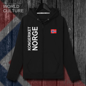 Image 2 - Norway Norge NOR Norwegian Nordmann NO mens fleeces hoodies winter jerseys coat men jackets and clothes nation country cardigan