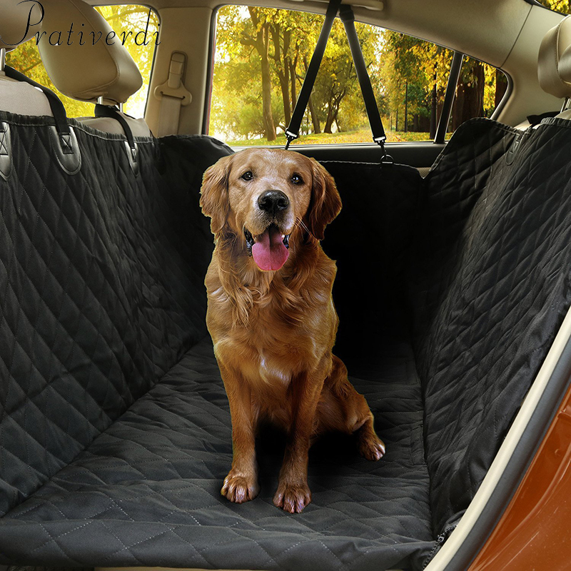 Pet Car Seat Covers For Big Dogs Waterproof Back Bench Seat Car Interior Travel Pet Accessories Dog Carriers Car Seat Covers Mat