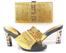 2016 neue Mode Italienische Schuhe mit Passenden taschen Für Party afrikanischen schuhe Und Taschen für Hochzeit schuh und tasche set frauen Q1-12
